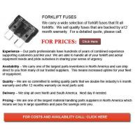 Quality Fuses for Forklifts wholesale