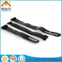 Quality Silicone Rubber Adjustable Hook and Loop Anti Slip Strap with Logo wholesale