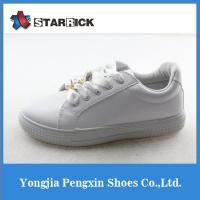 China New design pearl beads large size women shoes on sale