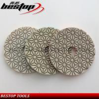 New Pattern High Quality 3 Step Diamond Polishing Pads for Granite