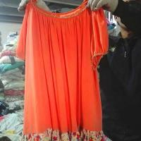 Quality Lady Silk Dress Mixed Second Hand Clothes wholesale