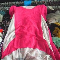Quality Lady Silk Blouse Tropical Mixs Used Clothing wholesale
