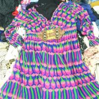 Quality Lady Silk Dress Manufacture Second Hand Clothes wholesale