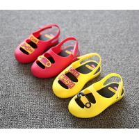 Quality wholesale summer back strap toddler jelly bean slippers girl mary jane sandals shoes wholesale
