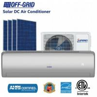 China 12000BTU DC48V Solar DC Air Conditioner and Solar Powered Split Air Conditioner Solar Cooling on sale