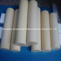 Quality Guangzhou customized plastic material rods tough hard pvc round plastic bar wholesale