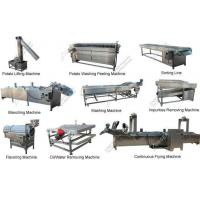 Quality Fully Automatic Potato Crisps Production Line|Potato Chips Making Machine wholesale