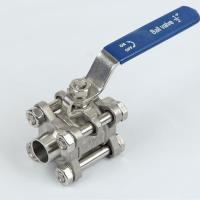 Quality Ball Valve Fully Sanitary Welded Ball Valve wholesale