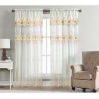 China macrame voile curtain on sale