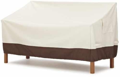 Cheap AmazonBasics 3-Seater Bench Patio Cover for sale