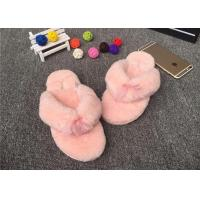 China Sheep Wool Slippers Various Colors Hot Wholesale 100% Sheepskin Slippers Fur Lined Slippers on sale