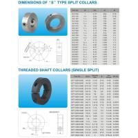 China DIMENSIONS OF S TYPE SPLIT COLLARS on sale
