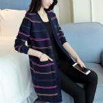 Buy cheap Color stripes long cardigan 1706187 from wholesalers
