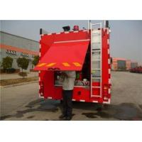 Quality Four Doors Cab Foam Fire Truck HOWO Chassis Four - Stroke Intercooled Engine wholesale