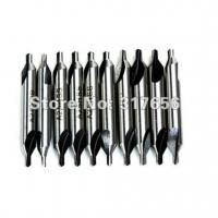 Quality 10pcs/lot,HSS BS4 Center Countersink Drill Bit Lathe Dia 3mm - intl wholesale