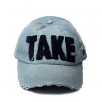Buy cheap Washed Baseball Cap With Applique from wholesalers