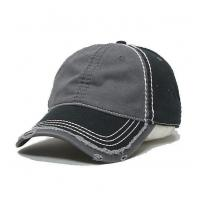 Buy cheap 6-Panel Heavy Line Applique Embroidered Washed Baseball Cap from wholesalers