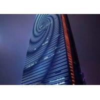 China DMX RGB LED Strip Display Screen , Flexible Foldable Outdoor LED Display Screen on sale