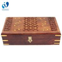 Quality Hollow Out Antiqued Wood Boxes wholesale