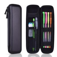 China Black Hard Pencil Case EVA Hard Shell Pen Case Holder for Executive Fountain Pen on sale