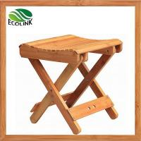 Quality Multifunctional Foldable Natural Bamboo Step Stool for Toddlers Fishing Garden Shower wholesale