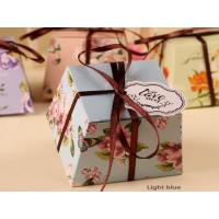 Quality Wedding Favor Boxes Candy Bags Gift Shower Box Elegant Tags Ribbons Gift Box wholesale