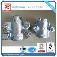 Quality Gravity Casting Aluminum Fire Coupling Hose heads or Clamps for lay flat hose wholesale