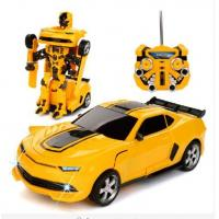 China Transformers Autobots Electric RC Car with One Button To Deformation Remote Control Option on sale
