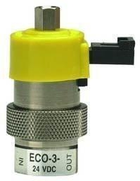 Cheap Clippard ECO-3-24, 3-Way Electronic Valve, Normally-Open, 24 VDC for sale
