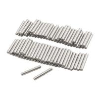 Quality uxcell 100 Pcs Stainless Steel 2.3mm x 15.8mm Dowel Pins Fasten Elements wholesale