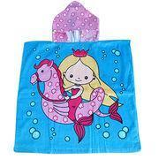 Children's Hooded Towel, OEM Orders Welcome, Azo-free, Lovely Baby Hooded Towels