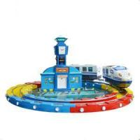 Quality Amusement Track Train 3 Seats Coin Operated Track Train wholesale