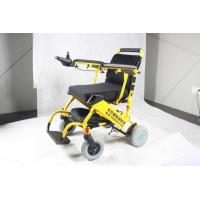 Quality Folding Ultra Portable Lightweight Electric Wheelchair with Lithium Battery wholesale