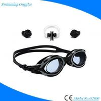 Buy cheap Adults' Adjustable Waterproof Anti Fog Swimming Glasses Outdoor Sports Swim Goggles from wholesalers