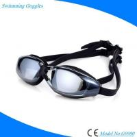 Cheap Prescription Antifog Anti UV Swimming Goggles with Mirrored Lens for Adults for sale