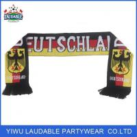 Quality Knitted Football Scarves wholesale