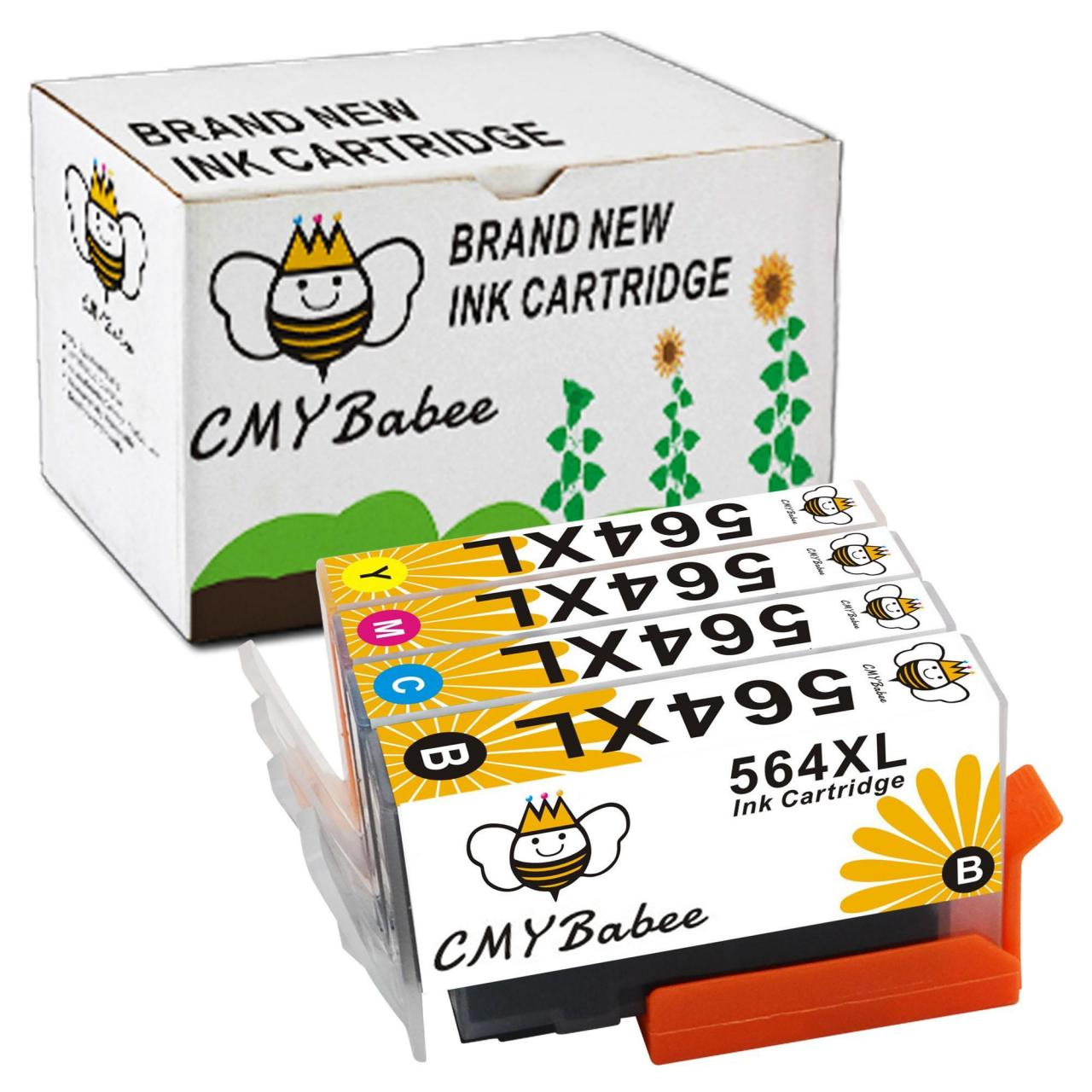 China Ink Cartridges 4 PACK HP 564XL Ink Cartridge for HP PhotoSmart 4610 5510 5520 6510 6520 on sale