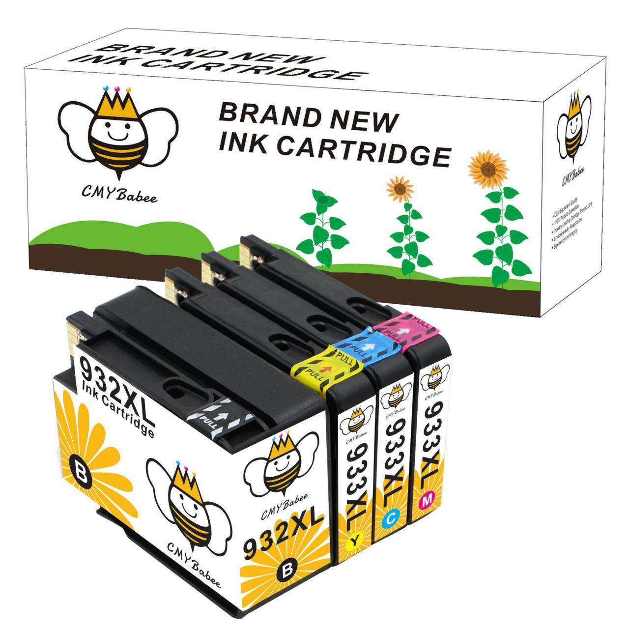Quality Ink Cartridges 4PK Remanufactured Ink Cartridge for HP 932XL 933XL 4Pk - OfficeJet 6100 6600 6700 wholesale