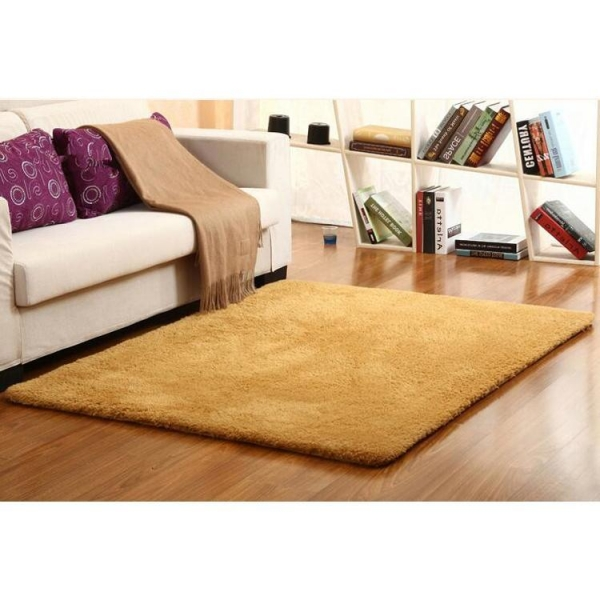 China Polyester Sherpa Material Living Room Mat Area Rugs