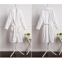Buy cheap Solid Color Classic Flannel Bathrobe from wholesalers