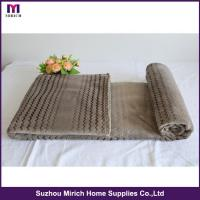 Buy cheap Shinning Wave Design Flannel Blanket from wholesalers