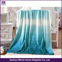 Buy cheap Fashion Gradient Jacquard Flannel Blanket from wholesalers