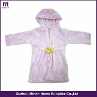 Quality Single Layer Printing Flannel Baby Robes wholesale