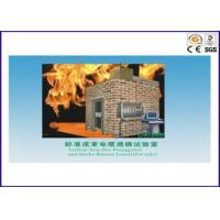 Standard Bunched Cable / Wire Flame Test Equipment With 0.1M
