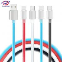 Quality High Light Aluminium Alloy Shell Type C Cell Phone Cables with TPE Jelly Line wholesale