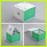 Quality Custom logo printing small and medium size white cake packaging box wholesale