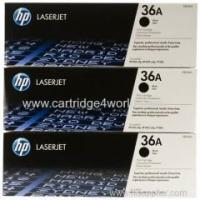 Buy cheap HP 36A Black Original LaserJet Toner Cartridge from wholesalers