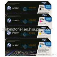 Buy cheap HP 125A Black Cyan Yellow Magenta Original LaserJet Toner Cartridge (CB540A-CB543A) from wholesalers
