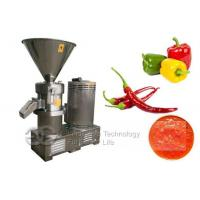 Quality Nut Butter Fresh Pepper Paste Grinding Machine In China wholesale
