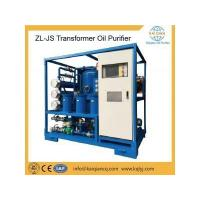 China ZL-JS Double Stage Transformer Oil Purifier on sale